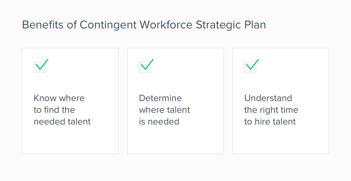 benefits of contingent workforce strategy